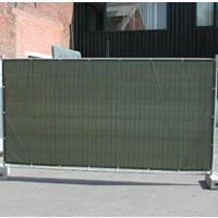Bâche barrière 176x341cm en PE 150 gr/m² - Vert
