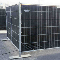Bâche barrière 176x341cm en PE 150 gr/m² - Bleu
