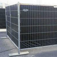 Lichtgewicht bouwhekzeil PE 150 gr/m² - Wit