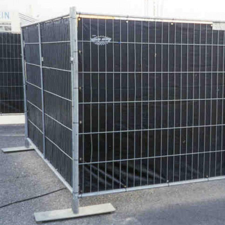 Bâche barrières 176x341cm en PE 150 gr/m² - Blanc