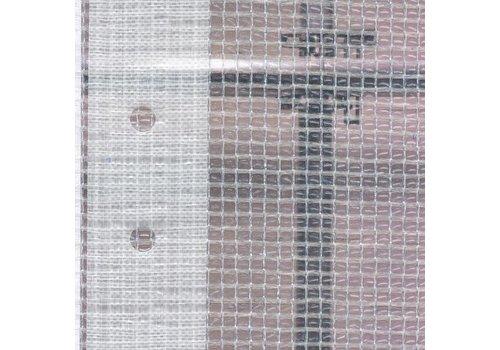 Bâche d'échafaudage 2,20m x 20m PE/PP 180 - Transparent