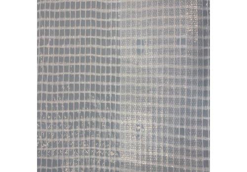 Bâche d'échafaudage 3,20m x 20m PE/PP 180 FR/NVO - Blanc