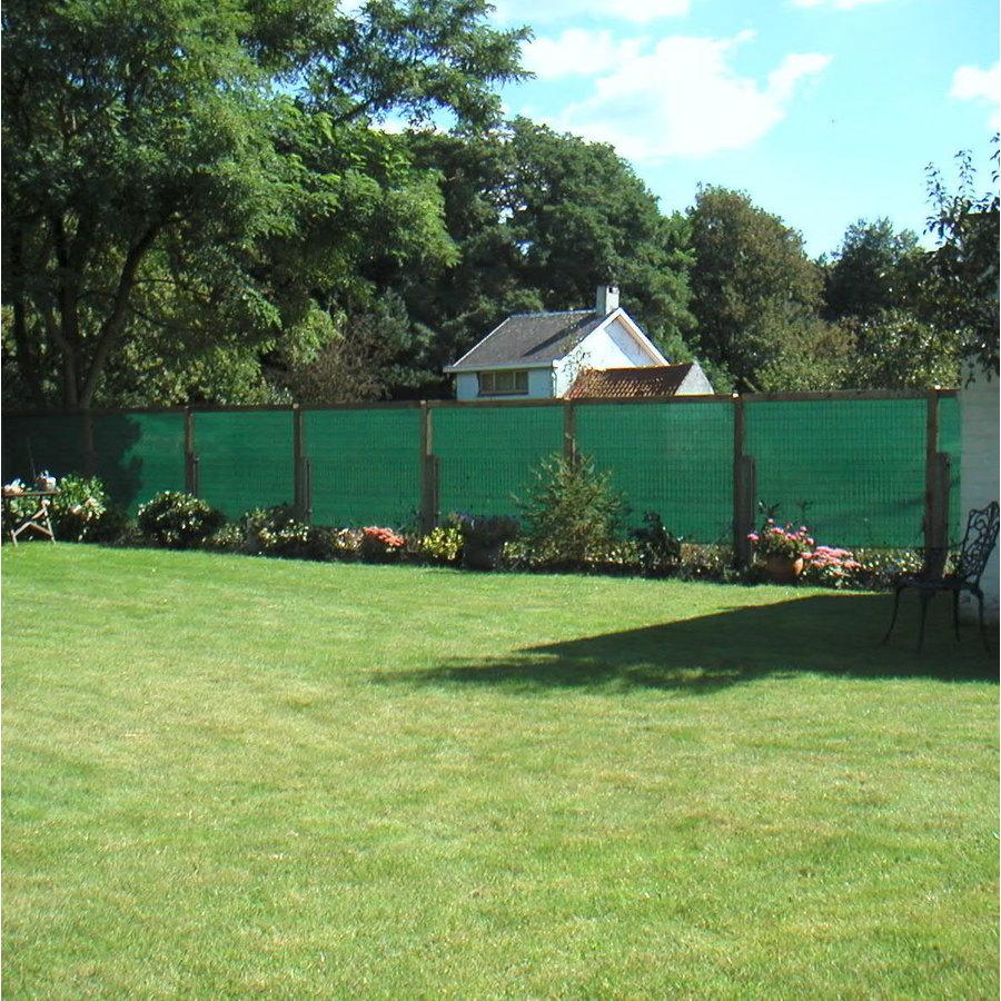 Clôture / filet d'ombrage PE 150 gr/m² rouleau 2,00m x 50m - Vert