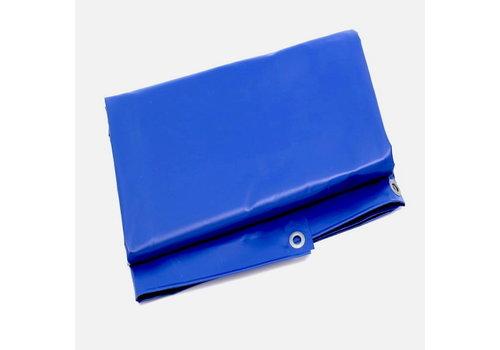 Bâche 3x3 PVC 600 ignifugée - Bleu