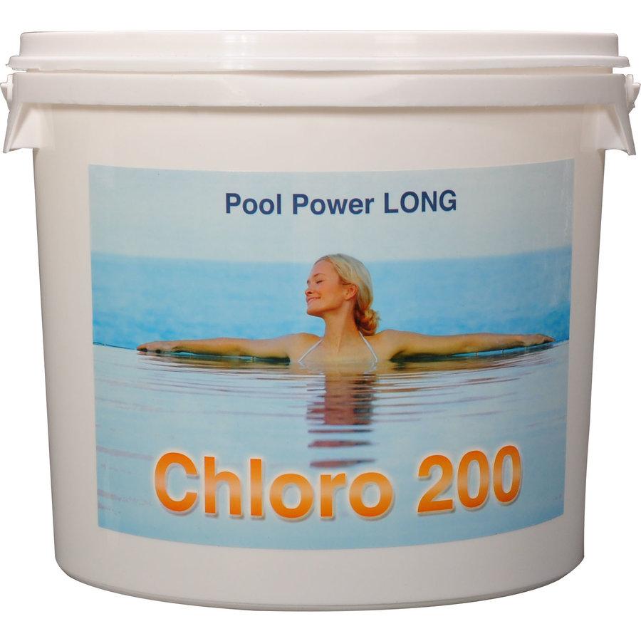 Chloor tabletten (200gr) voor zwembad 5kg
