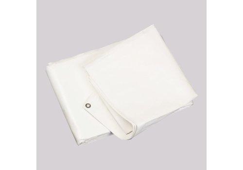 Bâche 8x10m PE 150 ignifugée - Blanc