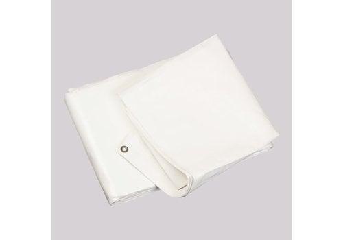 Bâche 6x8m PE 250 - Blanc