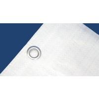 Bâche 6x8m 'Extra' PE 250 gr/m² - Blanc