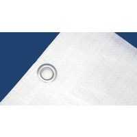 Afdekzeil 6x10m 'Extra' PE 250 gr/m² - Wit