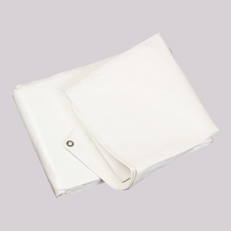Bâche 10x12m 'Extra' PE 250 gr/m² - Blanc