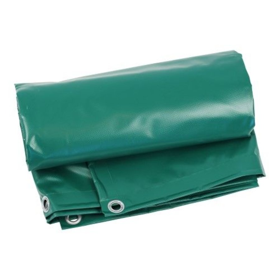 Bâche 4x6 PVC 600 oeillets 100cm - Vert