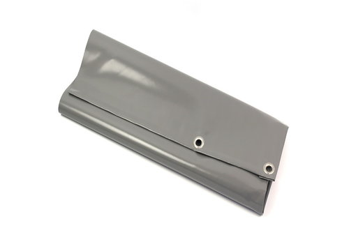 Afdekzeil 3x6 PVC 650 - Grijs