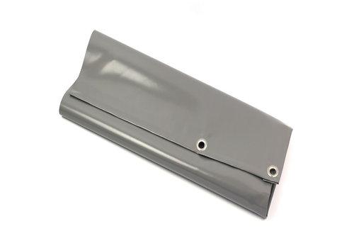 Afdekzeil 8x10 PVC 650 - Grijs