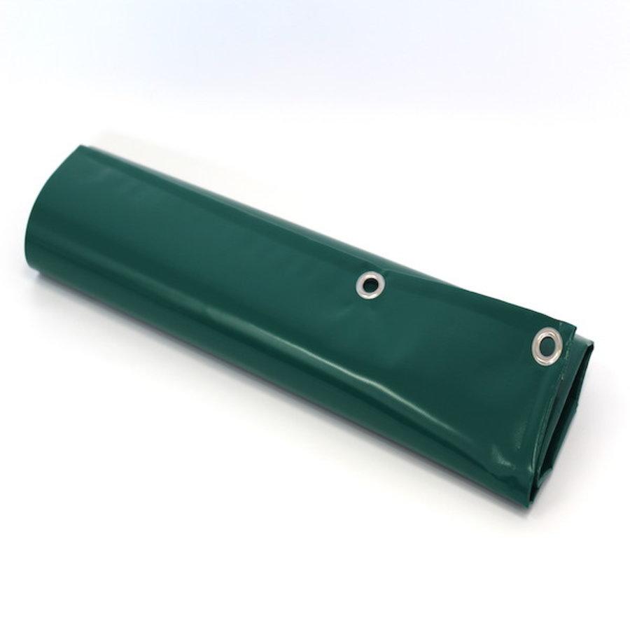 Bâche 9x9 PVC 650 œillets 50cm - Vert