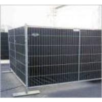 Bouwhekzeil 0,86x3,37m Zwart - PE 200 gr/m² NVO DIN4102-B1