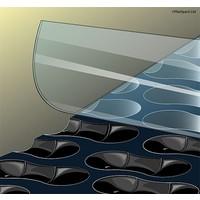 Zwembadzeil 2,50x5,40m noppenfolie EnergyGuard ST 500 micron Geobubble