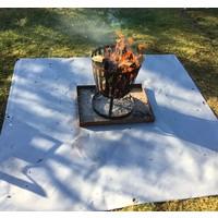 Bâche sous-couche pour panier à feu 150cm x 150cm