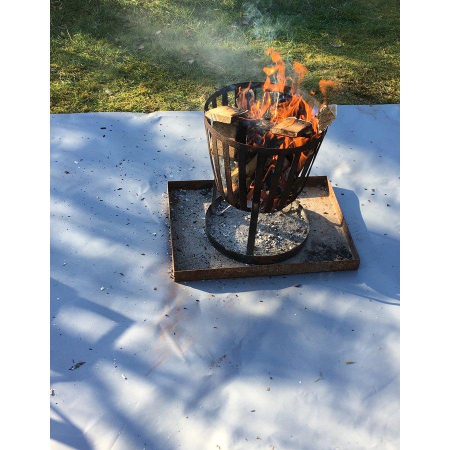 Vuurkorf onderlegger 160cm x 160cm