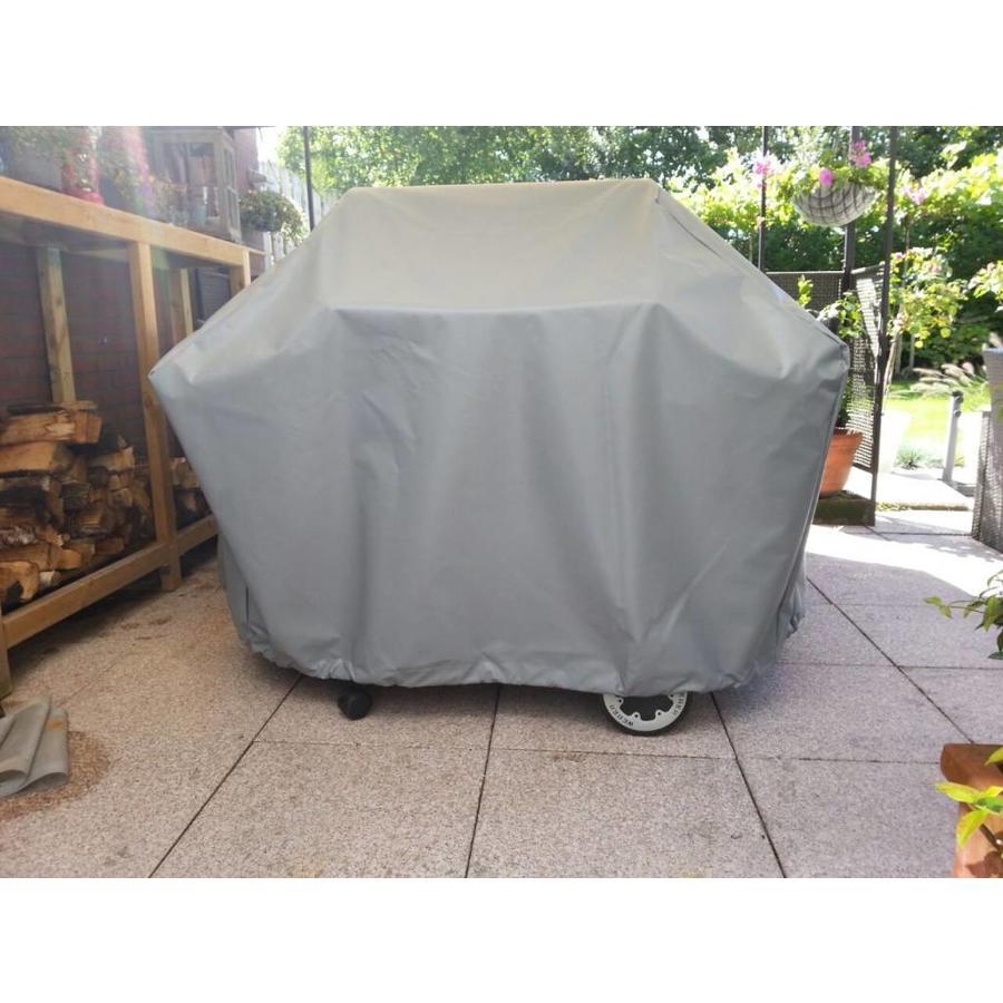 Hoes BBQ PVC 450 op maat gemaakt