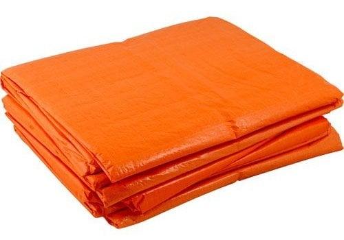 Afdekzeil 6x8m PE 100 - Oranje
