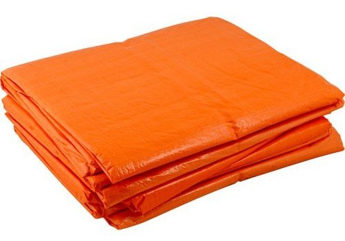 Bâche 6x8m PE 100 - Orange