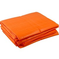 Afdekzeil 8x10m 'Light' PE 100 gr/m² - Oranje