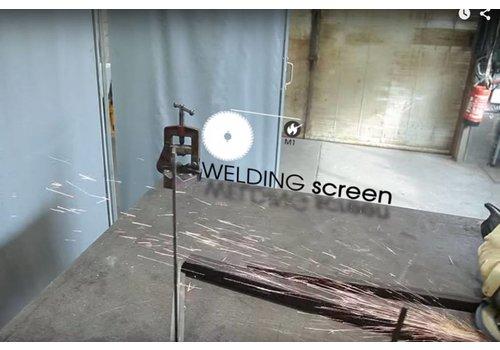 Bâche PVC/fibre de verre 600 ignifuge M1