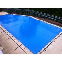 Bâche d'hiver professionnelle pour piscine PVC 620