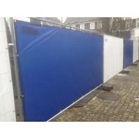 Bouwhekzeil 176x341cm PE 150 gr/m² - Blauw