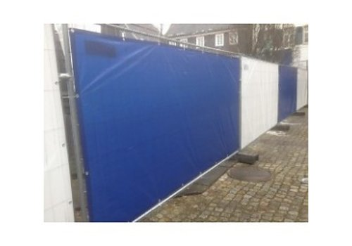 Bâche barrières 176x341cm PE 150 - Bleu