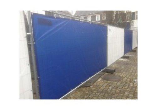 Bouwhekzeil 176x341cm PE 150 - Blauw