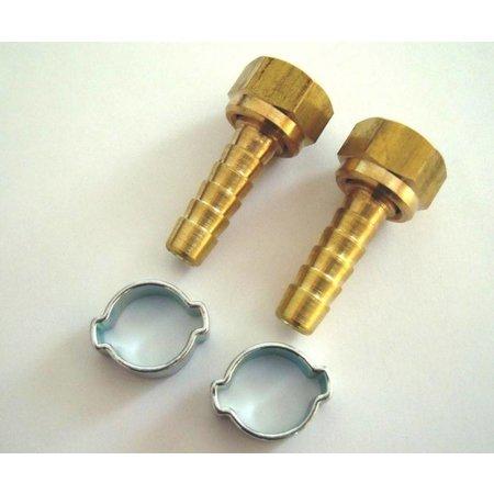 CONTRACOR Aluminium dodemansknop | Pneumatisch | Dubbellucht