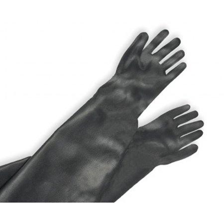 CONTRACOR Straalhandschoenen rubber | gevoerd | RGS | 600/800 mm.