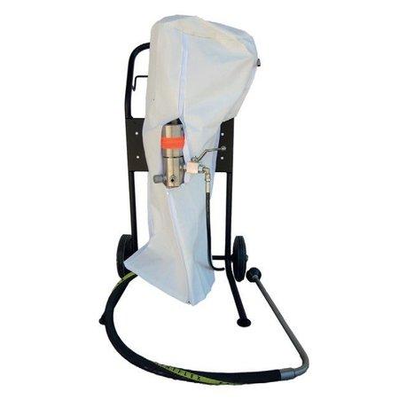 Beschermhoes voor pneum. pompen en apparatuur