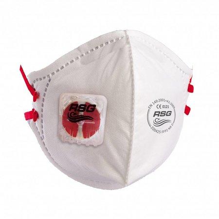 RSG Safety  Vouwmasker C series - FFP2V NR D