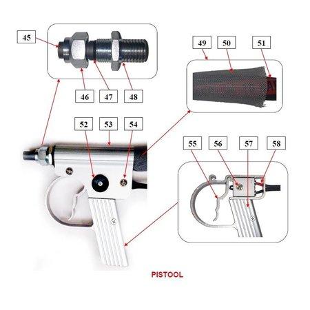 Problaster IBIX Onderdelen pistool IBIX Problaster 9
