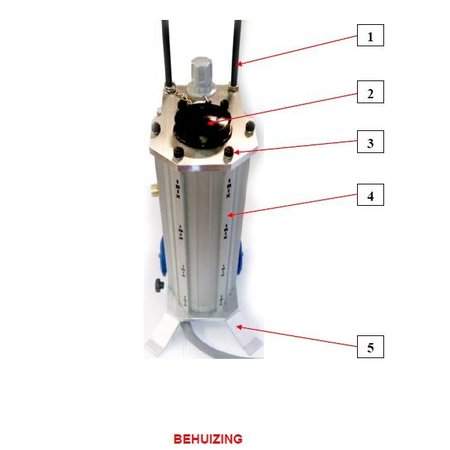 Problaster IBIX Onderdelen behuizing IBIX Problaster 9