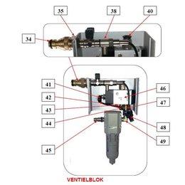 Problaster IBIX Onderdelen ventielblok Problaster 9