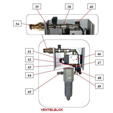 Problaster IBIX Onderdelen ventielblok IBIX Problaster 9