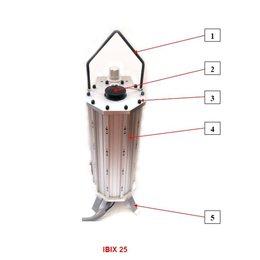Problaster IBIX Onderdelen behuizing Problaster 25