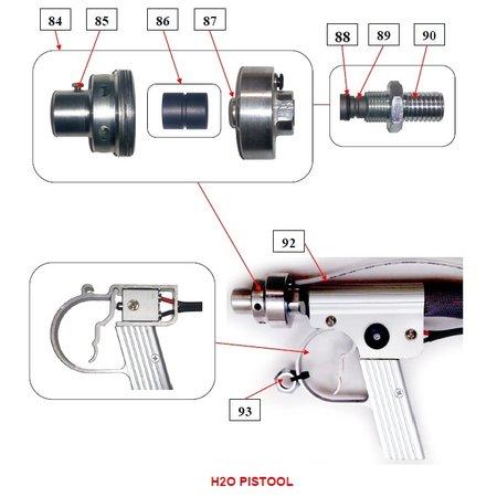 IBIX® Onderdelen IBIX® 9 H2O pistool