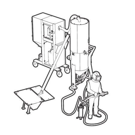 CONTRACOR STRAALMIDDEL RECYCLINGSUNIT VAC-5