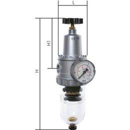 Filterregelaars - standaard, tot 12000 l/min - SERIE 1