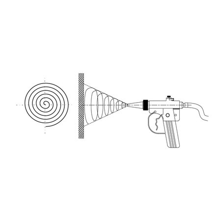 IBIX® IBIX® 9 Helix® pistool met  6 meter straalslang