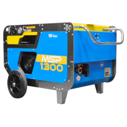 MAC3 MSP1300 | 1,3 m³/min.  Uitvoering met wielen