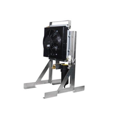 MAC3 SCHROEFCOMPRESSOR MSP1300   1,3 m³/min.    Uitvoering met wielen