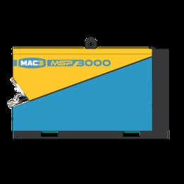 MAC3 MSP2000 | 2 m³/min.  SKID uitvoering