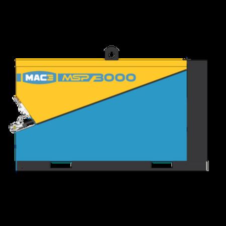 MAC3 SCHROEFCOMPRESSOR MSP2500   2,5 m³/min.   SKID uitvoering