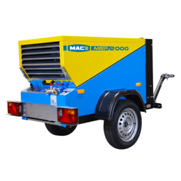 MAC3 MSP3000 | 3,0 m³/min.  Trailer/Skid uitvoering