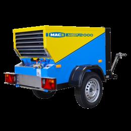 MAC3 MSP5000 | 5,0 m³/min.  Trailer/Skid uitvoering
